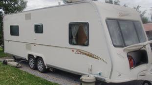 The £30,000 stolen caravan