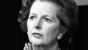 Margaret Thatcher pictured in May 1983.