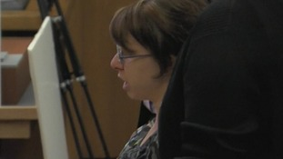 Michelle Knight speaking in court.