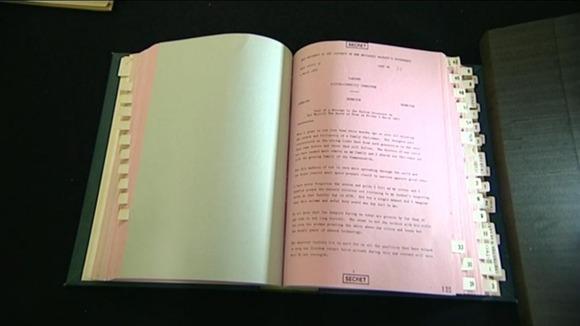 Dokumen rahsia teks ucapan Ratu Elizabeth WW III 1983