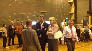 UKIP's Nathan Gill at Llangefni
