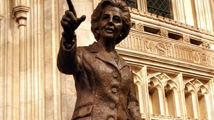 Thatcher statue could be roped off from MPs