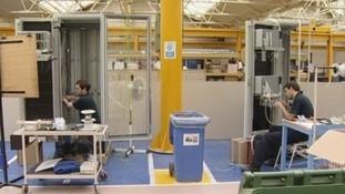 Jobs in danger at Siemens plant in Hebburn