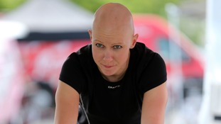 File photo of Olympic gold medal winning cyclist Joanna Rowsell