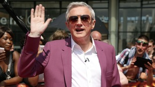 Louis Walsh seen at this year's open auditions for X Factor in Wembley