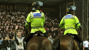 The Football Association (FA) said it is investigating the matter and will liaise with both clubs and the police.