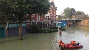 Herne Hill flooding