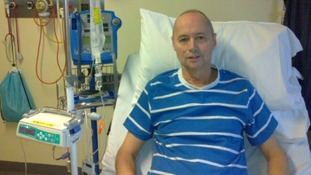 Steve Evans from Northamptonshire received a bone marrow donation