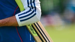 Kevin Pietersen's bat