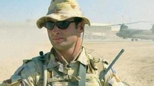 Danny Fitzsimons shot Australian Darren Hoare.