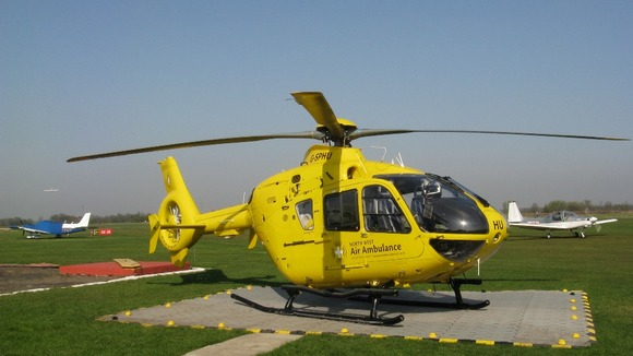 The North West Air Ambulance Credit: NWAA