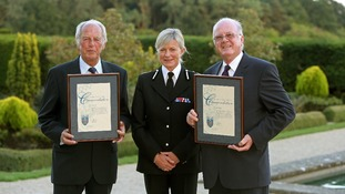 Great Train Robbery police officers commended