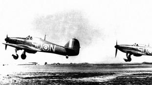WW2 hurricane