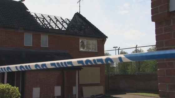 Edenbridge, Kent, arson