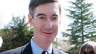 Conservative MP Jacob Rees Mogg has distanced himself from right-wing group.