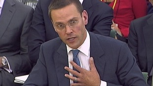 BSkyB Chairman James Murdoch appears before a parliamentary committee on phone hacking