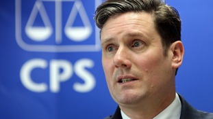 Director of Public Prosecutions Keir Starmer