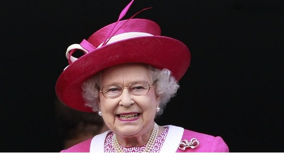 The Queen is seen at the Epsom Derby in 2011,