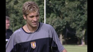 Stiliyan Petrov training for Aston Villa