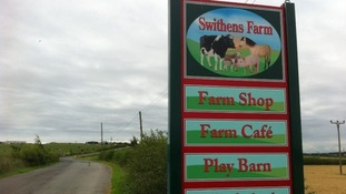 The incident took place at Swithens Farm in Rothwell, near Leeds.