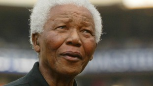 Nelson Mandela pictured in 2004.