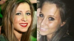 Kirstie Trup and Katie Gee. both 18, are being treated in London for injuries sustained during the attack.