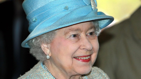 Queen Elizabeth II during a tour of Wales in April 2012