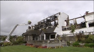 Falmouth Beach Hotel fire: Caused by workman