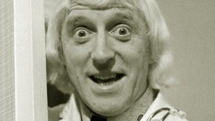 Jimmy Savile pictured in 1972.