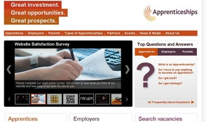 There has been a large increase in the number of apprentices since the NAS launched in 2008