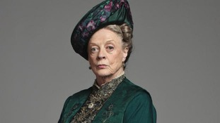 Dame Maggie Smith as the Dowager Countess in Downton Abbey
