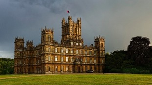 The hit series is filmed at Highclere Castle in Berkshire