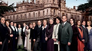 The cast of Downton Abbey Series 4