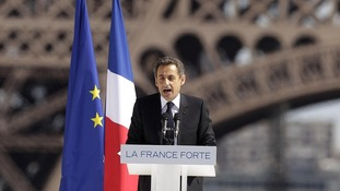 France's President and candidate for re-election in 2012, Nicolas Sarkozy,