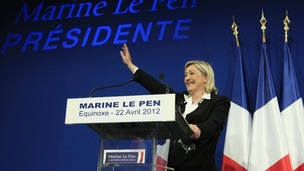 Marine Le Pen will not be endorsing Nicolas Sarkozy during the next round of voting