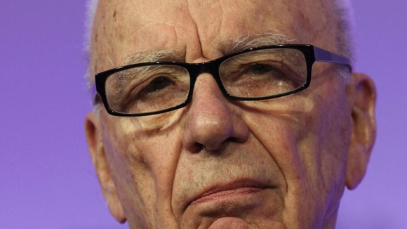 News Corporation Chief Executive Rupert Murdoch
