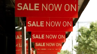 Summer sales improved the retail figures in June
