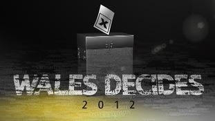 Wales Decides 2012 logo