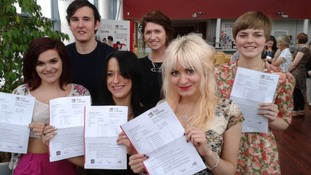 Students in Hull get their A-level results