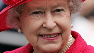 The Queen outside Windsor Castle on her 80th Birthday on April 21, 2006