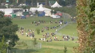 Last year's V-Festival at Highlands Park