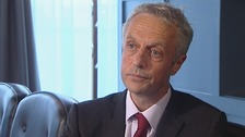 Cuadrilla Resources CEO Francis Egan speaks to ITV News.