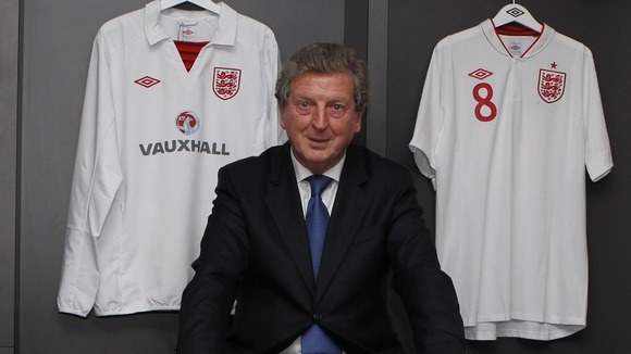 Newly appointed England manager Roy Hodgson