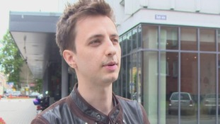 Klavs Sinka, a co-founder of Ask.fm, spoke exclusively to ITV News.