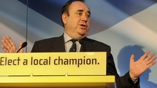 Alex Salmond, Scottish National Party leader