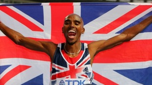 Mo Farah hailed as best of British after twin triumph