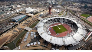 The Olympic Park.