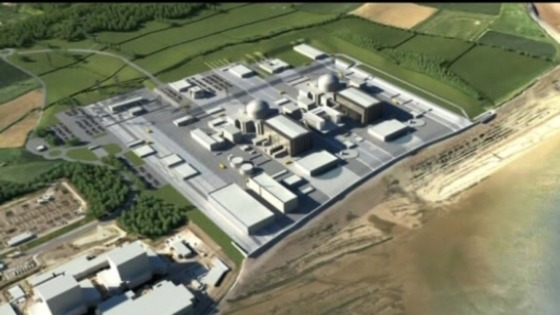 Artists impression of plans for Hinkley Point
