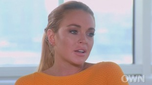 Lindsay Lohan tells Oprah she is on the road to recovery