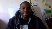 Fabrice Muamba in hospital